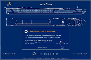 Cruise Ship Views - Virtual Tours AmaBella Deck Plans